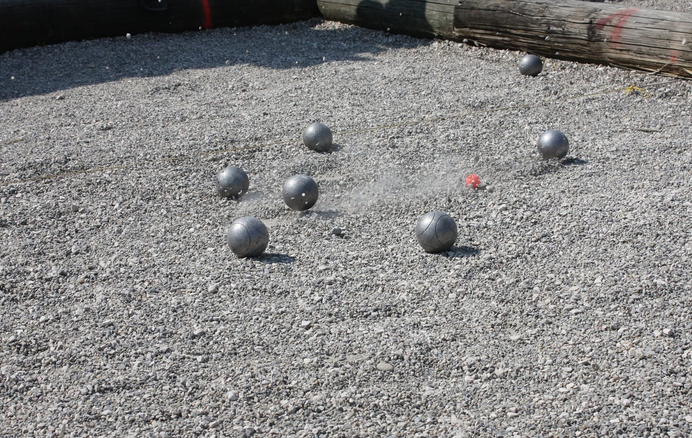 jeu de boules wedstrijd